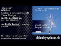 O slobode v slobodnom rádiu 53 – Úloha Európy : Zmysel histórie II. Boarding Pass, History