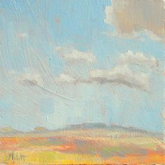 Heidi Malott Original Paintings: clouds