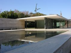 Mies van der Rohe. Pabellón de Alemania para la Exposición Internacional de Barcelona 1929