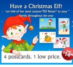 Create an Elf Note for your child today