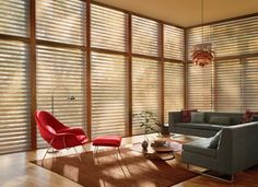 mid century modern window treatments - Google Search