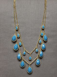 Tearful Beauty Necklace-pretty fashion jewelry necklace, trendy fashion jewelry necklace, affordable fashion jewelry necklace