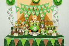 Safari Birthday Party | CatchMyParty.com