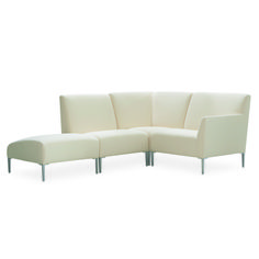 Lee Industries Kiawah Outdoor Sectional Series in Washed Tempo Natural Fabric