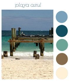 beach house exterior colors | Beach House Color Schemes