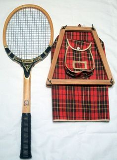 Vintage TAD Davis Professional Wooden Tennis Racket - 4 3/4 M