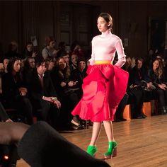 Fyodor Golan at London Fashion Week AW15. See more #lfw http://seen.co/event/2015-london-fashion-week---day-1-london-u.k.-2015-6761/highlight/124500