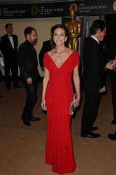 Ladies in red at the Governors Awards