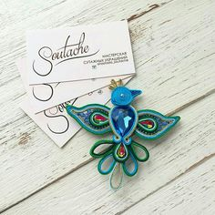 Soutache Pendant, Soutache Necklace, Beaded Embroidery, Hand Embroidery, Wire Jewelry, Bridal Jewelry, Earrings Handmade, Handmade Jewelry, Chinese Fabric