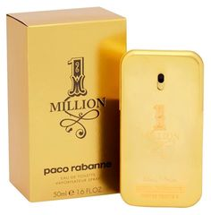Paco Rabanne 1 Million By Paco Rabanne For Men Eau De Toilette Spray, 1.7-Ounce / 50 Ml #ad