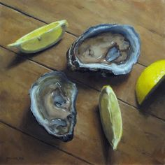MICHAEL NAPLES: Oysters and Lemon Slices