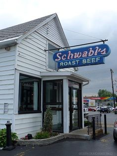 What I woudnt give for one of these....yum..Schwabl's,  Great beef on weck! West Seneca NY