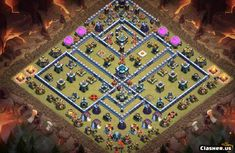 Clans Of Clans, Supercell Clash Of Clans, Clash Of Clans Game, Town Hall, Pokemon, Geek Stuff, Base, Link, Geek Things