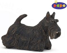 The Black Scottish Terrier from the Papo Dogs collection - Discounts on all Papo Toys at Wonderland Models. One of our favourite models in the Papo Farm range is the Papo Black Scottish Terrier. http://www.wonderlandmodels.com/products/papo-black-scottish-terrier/