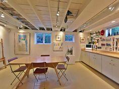 open basement ceiling ideas