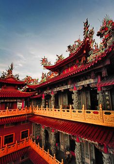I'm ready for an Asian Excursion! Taiping Temple, Hsintien City, Taiwan.