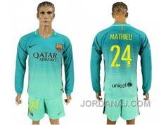 http://www.jordanaj.com/barcelona-24-mathieu-sec-away-long-sleeves-soccer-club-jersey.html BARCELONA #24 MATHIEU SEC AWAY LONG SLEEVES SOCCER CLUB JERSEY Only $20.00 , Free Shipping!