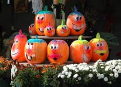 Our block parties are in Fall so pumpkin or gourd painting is a great combo activity/decoration.