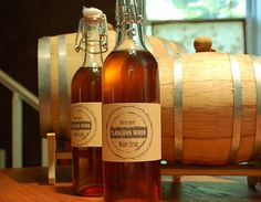 Whiskey flavored maple syrup!  Sourcing Grade A medium amber from two sugar masters in Pennsylvania, the artist ages his syrup in oak barrels originally used for whiskey production by Catoctin Creek Distilling Company.