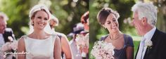 Candid photographs of a bride and her family during their garden inspired wedding in Massachusetts Gina Brocker Photography