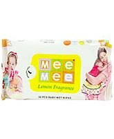 Buy Mee Mee Baby Wet Wipes Lemon Fragrance - 30 Pieces online in India at the best prices from Firstcry.com. Free Shipping, COD options available