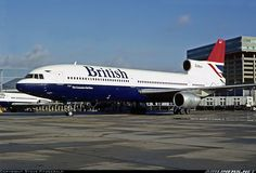 Lockheed L-1011 TriStar stood in front of the building I once worked in - Technical Block C