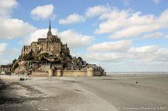 Roadtrip to Normandy – Le Mont-Saint-Michel – Compass heading Rocky Shore, 1st Century, Mont Saint Michel, Windy Day, Romanesque, Normandy, Small Towns, Compass, The Locals