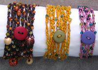 Free Crocheted bracelets Tutorials