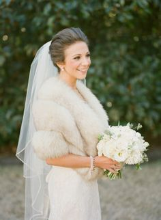Winter Wrap for Bride | photography by http://www.ashleyseawellphotography.com