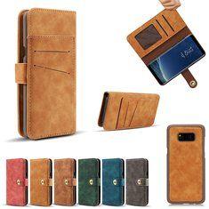 [US$11.99] Magnetic Detachable Wallet Case For Samsung Galaxy Note 8/S8/S8 Plus  #8s8s8 #case #detachable #galaxy #magnetic #note #plus #samsung #wallet