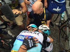 Le Tour de France @letour Explosion de joie pour @Etixx_QuickStep / @Etixx_QuickStep boys celebrating the victory #TDF2015 pic.twitter.com/ldTdUmlK34