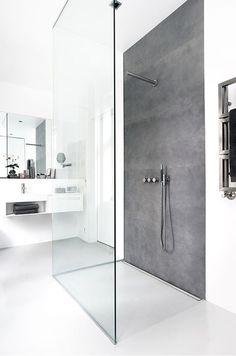 Wet room ideas - Scandinavian-inspired wet rooms are the way forward! #shower #design #bathroom