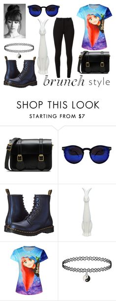 """Untitled #53"" by whatpandas on Polyvore featuring Dr. Martens and Victoria Beckham"