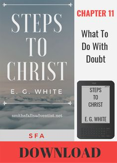 Illustration-Ebook Steps To Christ, Chapter 6 - The Test Of Discipleship-text-logo The Son Of Man, Son Of God, Spirit Of Truth, Grow In Grace, Begotten Son, Knowing God, Jesus Quotes, The Life, Free Ebooks