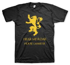 game-of-thrones-remeras color-animal-house baratheon Game Of Thrones, Animal House, Mens Tops, T Shirt, Color, Women, Fashion, Colour, Tee
