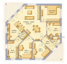 Die 80 Besten Bilder Von Grundriss Bungalow House Floor Plans