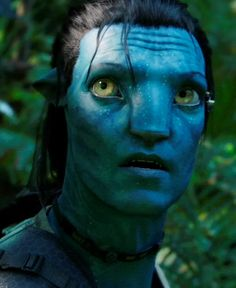 Cool photo of Jake Sully from Avatar. #avatar