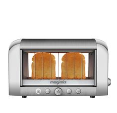 toaster vision grille pain magimix chrome mat