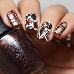 Fall Leaf Nail Art Designs - Fall leaves on nails right now are super-trendy. We searching for 150 best examples. Be ready to get inspiration! Fall Nail Art, Fall Nails, Holiday Nails, Pretty Nail Colors, Nail Effects, Hot Nails, Fall Nail Designs, Artificial Nails, Creative Nails