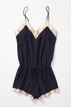 The Lingerie Addict — La Fee Verte Romper via: Anthropologie Pretty Lingerie, Vintage Lingerie, Beautiful Lingerie, Sexy Lingerie, Luxury Lingerie, Lingerie Dress, Vintage Bra, Elegant Lingerie, Asian Lingerie