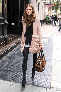 Olivia Palermo lors d'une séance de shopping à New York