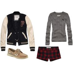 """Letterman"" by btb97 on Polyvore"
