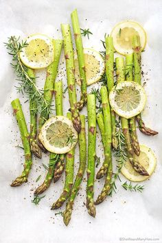 This easy Roasted Asparagus is a healthy side dish and a perfect compliment for any meal.