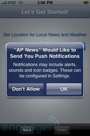PUSH NOTIFICATION is the future! Invest in a mobile app for your business and take advantage of Push messages