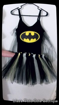 Adult Batman tutu costume.  facebook.com/tutusbylisa   @loccigirl I found my Halloween costume! Add some fish nets and knee high boots and we are good to go!