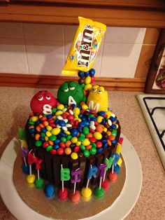 Brilliant Gravity Defying Cake