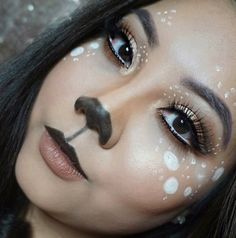Deer Makeup by dinhviv. Upload your Halloween selfie on Sephora's Beauty Insider Community for a chance to be featured!