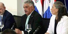 El Canciller dominicano Miguel Vargas durante la conferencia de prensa celebrada en la sede del Ministerio de Relaciones Exteriores ofrece detalles de la Cumbre de la CELAC a celebrarse en el exclusivo balneario de Punta Cana, durante los días 24 y 25 del presente mes de enero, 2017.