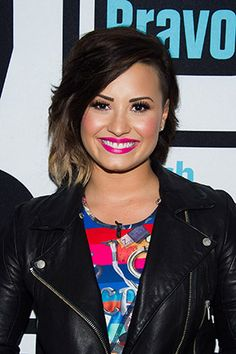 Huge, Huge, Huge Beauty News: Demi Lovato Just Launched a Skincare Line! A looong time ago lol. Camp Rock, 2015 Hairstyles, Cool Hairstyles, Demi Lovato Hair Color, Selena, Beauty News, Celebrity Beauty, Hair Lengths, Pretty People