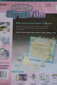 shrinky dink maker instructions